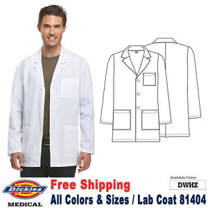 Dickies LAB COATS Men's Fashion 31 Inch Lab Coat 81404