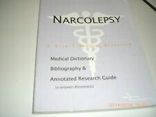Narcolepsy - A Medical Dictionary, Bibliography, and Annotated Research Guide