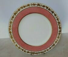 Wedgwood Whitehall Power Pink Band Dinner Plate 10 7/8 Inches