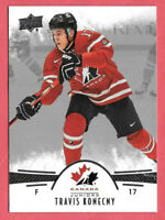 2016-17 Travis Konecny 18 Card Lot Upper Deck Team Canada Juniors Rookie #38