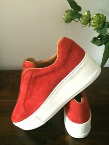 Russell&Bromley Park Up Flatform Sneakers.Size UK 7