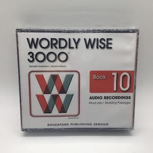Wordly Wise 3000 2nd Edition Book 10 Audio CD by Kenneth Hodkinson Free Ship