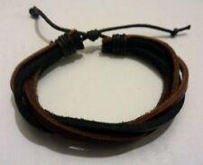 Friendship Braided Hemp Surfer Bracelet Wristband Adjustable 16/24cm
