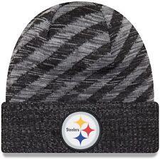 Pittsburgh Steelers Era Knit Hat on Field 2018 TD Sideline Beanie Cap fa3adfdb7