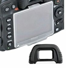 BM-11 Crystal Plastic LCD Screen Protector for Nikon D7000 + DK21 eye cup eyecup