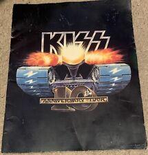 KISS 1982 tour book Creatures Of The Night RARE Eric Carr Vinnie Vincent program