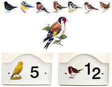 Goldfinch House Door Number Plaque Goldfinch Bird  Door Sign Any Number Decor UK