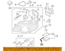 VW VOLKSWAGEN OEM 07-11 Eos Headlight Head Light Lamp-Harness Right 3C0971671