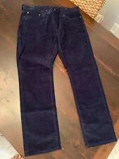 NWT J Crew 34 / 30 Black Flex Slim Corduroy Pants