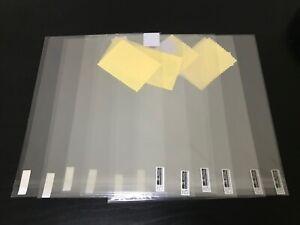 """iPad2 6x Displayschutzfolien 11,6"""""""