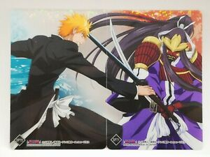 Bleach Bandai 2009 carddass carte card made in japon SP70 & SP71 Ichigo Kurosaki