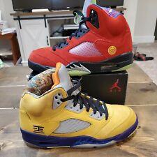 """Nike Air Jordan 5 Retro SE """"What The"""" Multicolor CZ5725-700 Men's Size 8.5"""