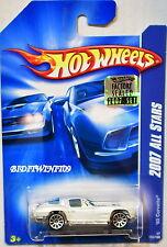 HOT WHEELS 2007 ALL STARS '63 CORVETTE WHITE FACTORY SEALED