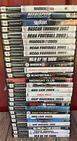 PS2 Playstation 2 Huge Lot Of 26 Games Madden Need For Speed NBA NCAA MLB PGA