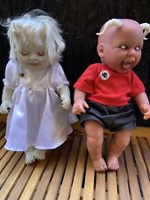 Horror Baby Dolls Bloody Devil Living Dead Preowned Rare