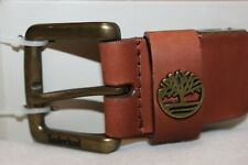 Timberland Men's Brown Genuine Leather Casual Belt NWT Size fits up to 42