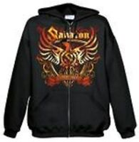 SABATON - COAT OF ARMS  HOODED SWEATSHIRT HOODIE ZIP GR. S NEU