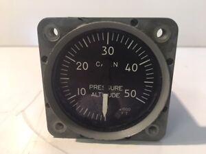 Aircraft Altitude Pressure Cabin Altimeter Indicator 6685-12-173-3175 HM512-2