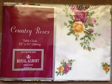 "Royal Albert Old Country Roses Tablecloth 52"" X 70"" Oblong"