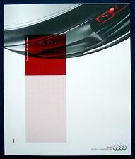 Prospectus brochure 2012 AUDI programme * image brochure r8 * r8 gt (USA)