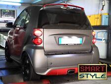 SmartStyle Voiture Intelligente Fourtwo Brabus Style PU Boot/Toit Spoiler 01/2014