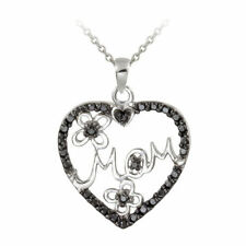 Diamond Treated Stone Sterling Silver Fine Jewellery