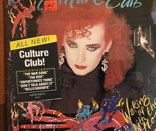 CULTURE CLUB -1984 ' WAKING UP WITH THE HOUSE ON FIRE RARE SEALED LP HYPE VINYL