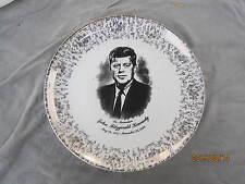 "President John F Kennedy Memoriam Collectors Plate 9"""