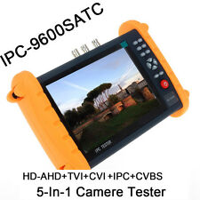 "7"" Touch Screen Monitor Onvif HD-AHD/TVI/CVI Analog CCTV Camera Tester Wifi To"