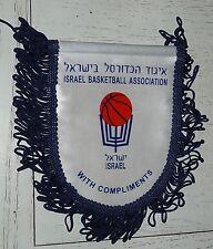 FANION BASKETBALL ASSOCIATION ISRAEL BASKET WIMPEL PENNANT