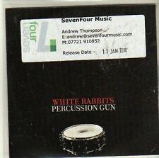 (CI452) White Rabbits, Percussion Gun - 2010 DJ CD