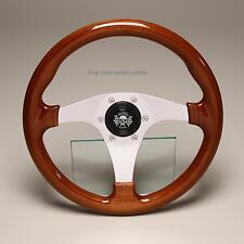 Retro madera volante volante deportivo madera 330mm toyota celica ta23 ta28 Crown corolla