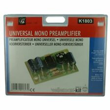Universal Mono Preamplificador Velleman Electronics Kit k1803