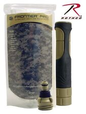 Aquamira Tactical Frontier Pro Emergency Water Filter Rothco 9430