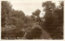 Woking. The Canal.