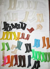 Bag of assorted doll boots