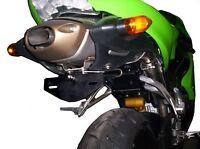 R&G Tail Tidy / Licence Plate Holder Kawasaki ZX6 R C1H 2005 LP0011BK Black