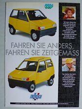 Prospekt Ligier Optima Sun, ca.1993, 4 Seiten