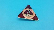 Ascot horse racing autorité support badge - 1995
