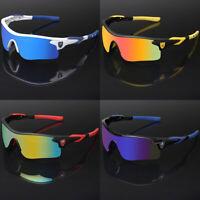 Sport Men Cycling Baseball Golf Running Ski Sunglasses Color Mirror Lens Glasses