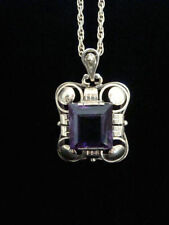 Necklace Amethyst Edwardian Fine Jewellery