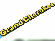 Original Jeep ORO GRAND CHEROKEE Ala Placa lateral Emblema 1993-1998 TD 4x4