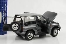1:18 Suzuki Vitara Escudo Dreitürer LHD grau metallic  Diecast Dorlop Neu