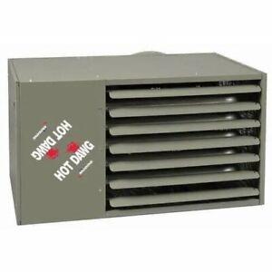 Modine HOT DAWG Natural Gas Propane Industrial Garage Barn Heater Reznor HDS125A