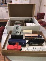 LIONEL 6-11910 1113WS STEAM FREIGHT SET Works! Die Cast Locomotive Engine USA