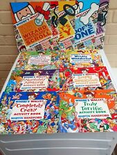 Where's Wally Activity and Puzzle Book Bundle (x10)