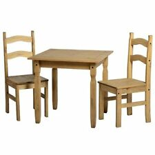 Wooden Modern 3 Piece Table & Chair Sets