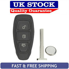 Ford 3 Button Remote Key Fob Case Service Repair Kit Fits Fiesta Focus Kuga