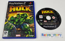 PS2 The Incredible Hulk PAL