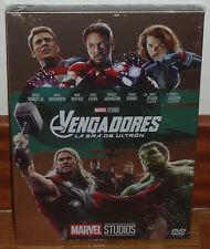 LOS VENGADORES LA ERA DE ULTRON SLIPCOVER DVD NUEVO ACCION MARVEL (SIN ABRIR) R2